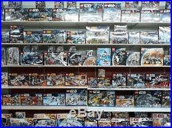 LEGO Star Wars Sammlung 200 verschiedene Sets zum Auswählen alle NEU ungeöffnet