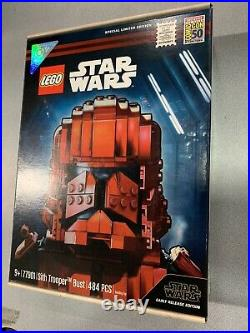 LEGO Star Wars Sith Trooper Bust (77901) SDCC 2019 Exclusive RARE (New & Sealed)