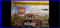LEGO Star Wars Store Display Case Lighting and Sound 7654 7660 7662 7665