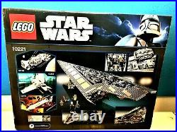 LEGO Star Wars Super Star Destroyer 10221 UCS Ultimate Collector Series NEW
