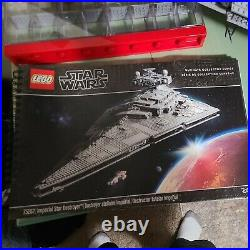 LEGO Star Wars UCS Imperial Star Destroyer 75252 100% complete witho minifigure