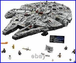 LEGO Star Wars UCS MILLENNIUM FALCON 75192 In Hand For Fast Shipping