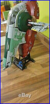 LEGO Star Wars UCS Slave 1 75060, with minifigures and instructions