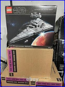LEGO Star Wars Ultimate Collector Series Imperial Star Destroyer Set #75252 NEW