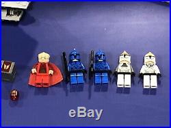 LEGO Star Wars VENATOR REPUBLIC ATTACK CRUISER #8039 Box Figures Instructions