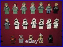 LEGO Star Wars minifigures LOT Endor Rebels, Scout Troopers, Leia, Luke, Ewoks, +Guns
