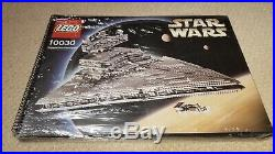 LEGO UCS Imperial Star Destroyer 10030 Complete With NEW Sticker & Manual