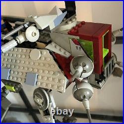 LEGO Vintage Original Star Wars AT-TE 4482 Set Rare 98% Complete