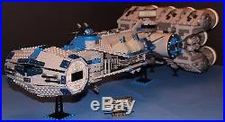 LEGO brick STAR WARS Custom 10019 Blue REBEL BLOCKADE RUNNER UCS 100% LEGO