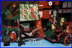 LEGO brick STAR WARS Custom 7676 KASHYYYK JUNGLE GUNSHIP + 8 Minifigure Crew