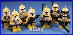 LEGO brick STAR WARS Custom MOC 7676 Yellow 327th STAR CORPS REPUBLIC GUNSHIP