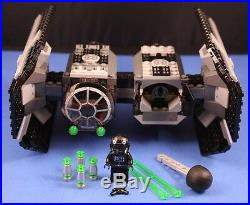 LEGO brick STAR WARS Customized 4479 TIE BOMBER + Missiles Bombs & PILOT incl