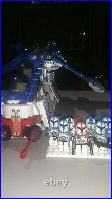 LEGO star wars 75021 Star Wars muunilinst 10 Republic Gunship custom