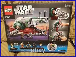 (LIGHT/MODERATE WEAR) New, Sealed Lego Star Wars Slave 1 20th Anniversary 75243
