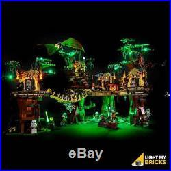 LIGHT MY BRICKS LED Light kit for LEGO Star Wars Ewok Village 10236