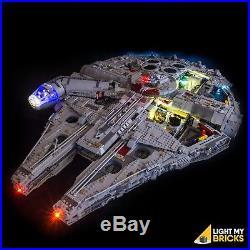 LIGHT MY BRICKS LED Light kit for LEGO UCS Millennium Falcon 75192