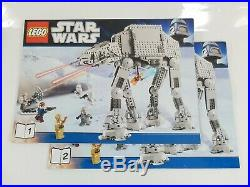 LIMITED EDITION LEGO Star Wars AT-AT Walker 8129 Imperial Hoth Battle INCOMPLETE
