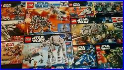 Largest Lot LEGO STAR WARS 10195 8098 8129 7868 8088 8087 set minifigure