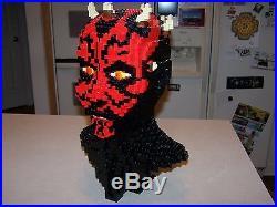 Lego 10018 Darth Maul UCS Sculpture Star Wars 100% Complete