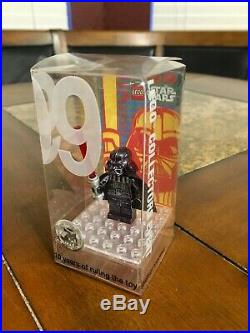 Lego 2009 Star Wars Promotional Chrome Black Darth Vader Toy Fair Sdcc Uber Rare
