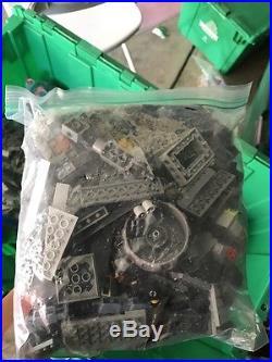 Lego 500+ Lbs 1600+ Minifigures Lot Bulk Harry Potter Star Wars System Technic