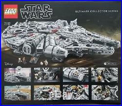 Lego 75192 Star Wars Millennium Falcon Ultimate Collectors Series New