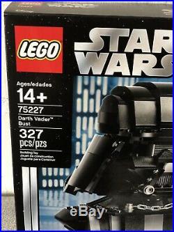 Lego 75227 Star Wars Darth Vader Bust Neu USA Selten