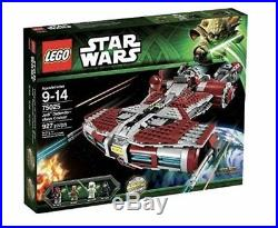 Lego New Star Wars Jedi Defender Class Cruiser 75025 Retired Set