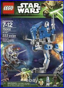 Lego Star Clone Wars 75002 ATRT AT RT AT-RT WALKER 501st Legion Clone Yoda NISB