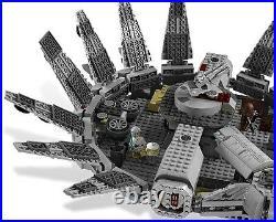 Lego Star Clone Wars 7965 Millennium Falcon Darth Vader Han Solo Leia Luke NISB
