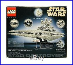 Lego Star Wars 10030 Ultimate Collector Series Imperial Star Destroyer Open Box