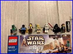 Lego Star Wars 10123 Cloud City - Complete with all minifigs and instructions