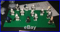 Lego Star Wars 10195 Republic Gunship AT-OT Walker 100% Complete Custom Extras