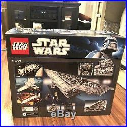 Lego Star Wars 10221 Super Star Destroyer Brand New in Box Retired