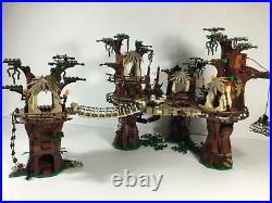 Lego Star Wars 10236 Ewok Village 100% Complete With Manuals No Box (2015)
