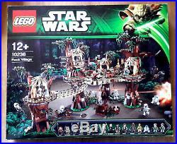 Lego Star Wars 10236 Ewok village, gebraucht, komplett