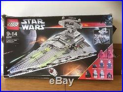 Lego Star Wars 6211 Imperial Star Destroyer Box, Instructions & Minifigures