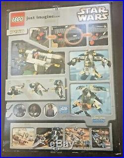 Lego Star Wars 7153 Jango Fetts Slave 1, New In Sealed Box, Nisb