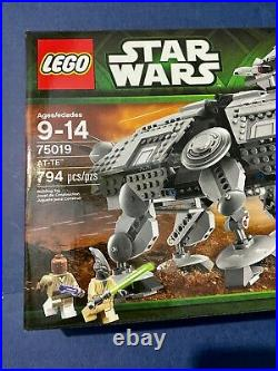 Lego Star Wars 75019 AT-TE New in Box Sealed Retire