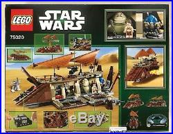 Lego Star Wars 75020 Jabbas Sail Barge set New In Factory Sealed Box