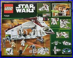 Lego Star Wars 75021 Republic Gunship Retired! Sealed! Unopened