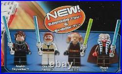 Lego Star Wars 7931 Jedi T-6 Shuttle mit Figuren Anleitung OVP 100% komplett