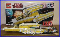 Lego Star Wars 8037 Anakin´s Y-Wing Starfighter 100% komplett Figuren BA OVP