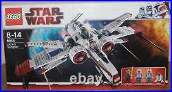 Lego Star Wars 8088 ARC-170 Starfighter mit Figuren Anleitung OVP 100% komplett