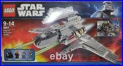 Lego Star Wars 8096 Emperor Palpatine´s Shuttle mit Figuren BA OVP 100% komplett