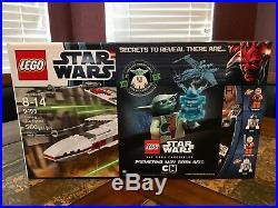 Lego Star Wars 9493 X-wing Starfighter Ny Yoda Sdcc Nycc Nytf Extremely Rare