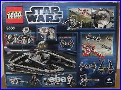 Lego Star Wars 9500 Sith Fury class Interceptor 100% komplett mit Figuen OVP BA
