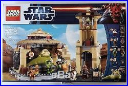 Lego Star Wars 9516 Jabba's Palace set New In Factory Sealed Box
