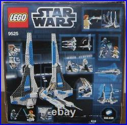 Lego Star Wars 9525 Pre Vizla`s Mandalorian Fighter 100% komplett Figuren OVP BA