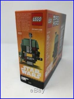 Lego Star Wars Boba Fett/Han Solo Brickheadz 41498 NYCC Exclusive #938